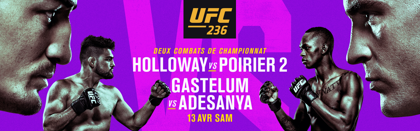 UFC 236 - Holloway vs Poirier 2
